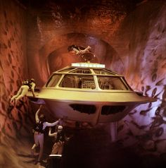 FANTASTIC VOYAGE (1966) Awesome sci-fi, written by Harry Kleiner! A team of medical scientists are shrunk, and travel inside the human body in a small submarine. Starring Rachel Welch, Donald Pleasence & Stephen Boyd