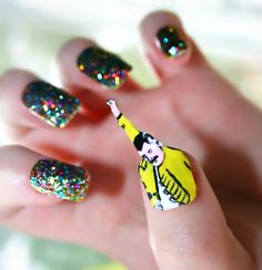 awesome simple nail designs step by step with tape Gel Nail Art Trendy  Colorful DIY Nail