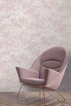 July Sale now on! Get a great deal on this pretty Albany Whispering Trees wallpaper design in dusky pink! Bedroom Feature Wallpaper, Tree Wallpaper Bedroom, Home Wallpaper, Pink Wallpaper Living Room, Pink Feature Wall, Feature Wall Living Room, Dusky Pink Wallpaper, Tree Wallpaper Design, Dusky Pink Bedroom