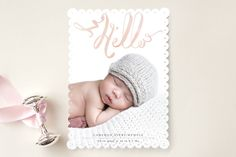 Hello Baby by Lori Wemple at minted.com