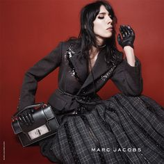 Marc Jacobs Fall 2015 campaign featuring Jamie Bochert. Photographed by David Sims.