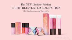 Mary Kay Spring 2017 Light, Reinvented Collection www.marykay.com/ktuckness or call or text  830-613-6592