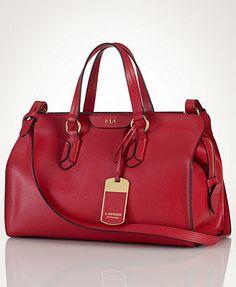 Lauren Ralph Lauren Tate Satchel Handbags   Accessories - Macy s 75318c986945c