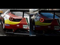 Xbox Scorpio vs Xbox One Forza 6 Graphics