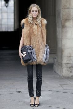 Paris Fashion Week Fall 2012  Poppy Delevingne