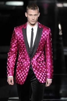 AW09 Dolce & Gabbana Hand-Woven Tuxedo Jacket