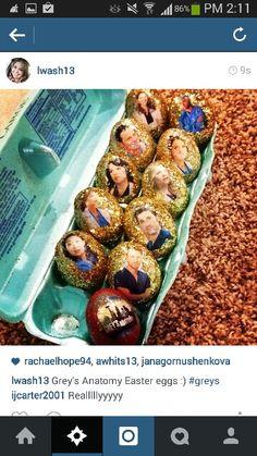 Grey's Anatomy Easter eggs! Yes, please!