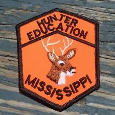 """Pa Pennsylvania Game Fish Commission 1970s 3/"""" Safe Hunter Hunter Education Patch"""