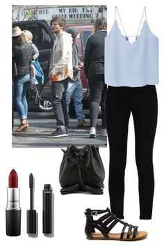 """""""Great day with Louis """" by emma-horan-73 on Polyvore featuring mode, STELLA McCARTNEY, MANGO, Rebecca Minkoff, Chanel et MAC Cosmetics"""