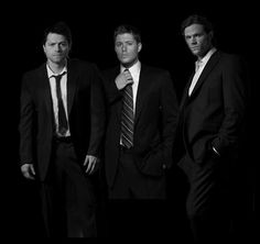 supernatural heaven :) Cause every girls crazy bout a sharp dressed man.