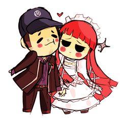 Junpei and Chidori