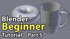 Blender Beginner Tutorial - Part 5: Modelling