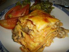 Alchemy of Pots: Lasagna Shrimp and Mushrooms