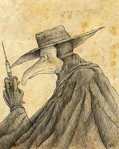 Plague Doc by ChewbaccaBigSis.deviantart.com on @DeviantArt