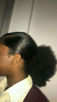Cute Natural Hairstyles, Natural Hair Tips, Natural Hair Journey, Natural Hair Styles, Baddie Hairstyles, Girl Hairstyles, Braided Hairstyles, Fancy Hairstyles, Everyday Hairstyles