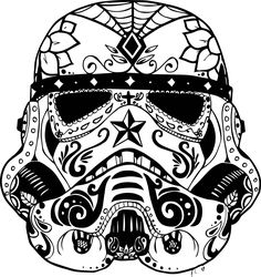 http://www.mcoloring.com/index.php/2015/11/29/sugar-skull-animal-colouring-pages/