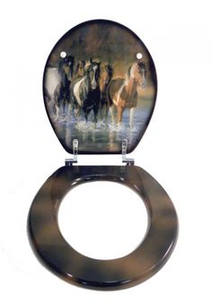 Running Horse Toilet Seat | American Expedition