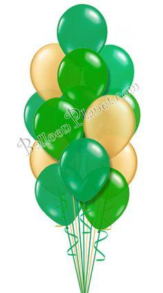 12 X Feliz St Patricks Day Látex Globos