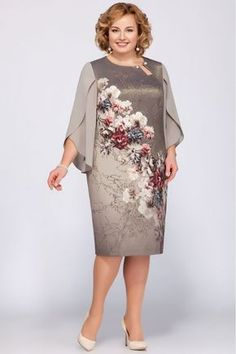 2018 Floral Print Dress Women Fashion Summer Chiffon Plus Size Dresses Dress Outfits, Casual Dresses, Short Dresses, African Fashion Dresses, African Dress, Plus Size Dresses, Plus Size Outfits, Mom Dress, Mothers Dresses