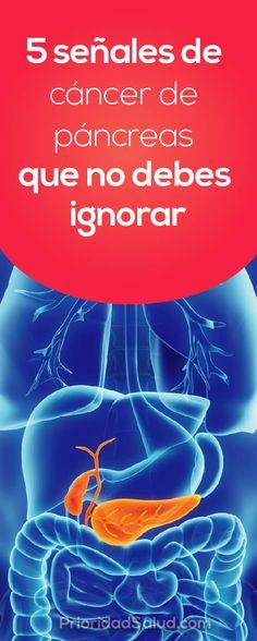 5 síntomas de cáncer de páncreas que nose deben nunca ignorar.