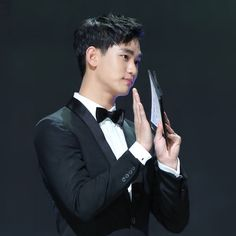 nice Actor Kim Soo Hyun as the presenter at 51st Baeksang Arts Awards May 26, 2015