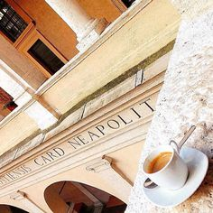 #goodmorningroma  #photooftheday @pierartini  Roman Espresso  #chiostrodelbramante #rome