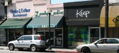 Keep shoes for shopping - West Hollywood