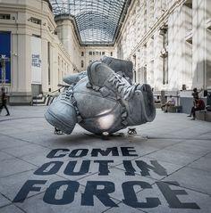 Nike - Sneakerball Sculpture on Behance