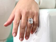 You Won't Believe the Cost and Carat Size of These Celebrity Engagement Rings | TheKnot.com