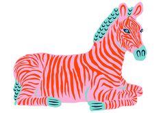 camilla perkins (With images) Zebra Illustration, Animal Illustrations, Illustrations Posters, Fantasy Illustration, Character Illustration, Arte Peculiar, Posca Art, Plakat Design, Collage Art