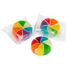 Rainbow Vortex Wheels Hard Candy: 5LB Bag