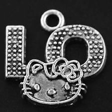 Hot Wholesale 7pcs Tibet Silver Charms Pendant DIY Jewerly 20x20mm T0701 (0.88E)
