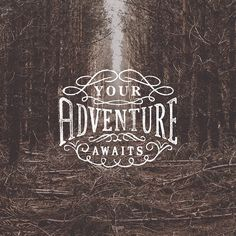 Your adventure awaits. Adventure Awaits, Typography, Motorhome, Instagram Posts, Movie Posters, Graphics, Design, Rv, Graphic Design