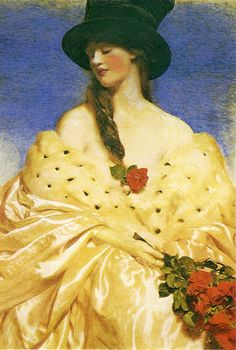 """Eve"" by Frank Cadogan Cowper (British, 1877 - 1958) | Posted by sofi01 (Sofi) on August 20, 2014"