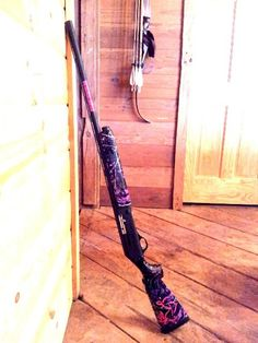 My gun dipped in Muddy Girl Camouflage! Offical Real Hunter's Wives gun!