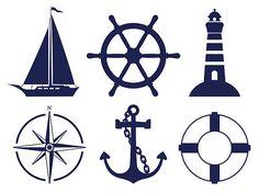 Sailing symbols royalty-free sailing symbols stock vector art & more images of anchor - vessel part Nautical Party, Nautical Nursery, Nautical Banner, Free Vector Graphics, Free Vector Art, Sailing Theme, Free Illustrations, Beach Art, Sailboat