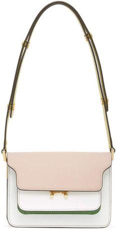 Marni Multicolor Mini Saffiano Trunk Bag Best Purses, Bago, Marni, Trunks, Fashion Accessories, Casual Outfits, Kate Spade, Goth, Style
