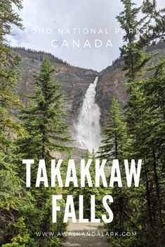 takakkaw falls canada Yoho National Park Canada National Parks, Yoho National Park, Canada Travel, Travel Usa, Canada Destinations, Toronto Travel, Winter Hiking, Best Vacations, Cool Places To Visit