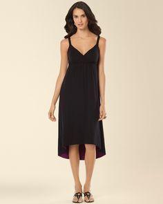 Soma Sleeveless Surplice High Low Dress in Black - #Soma Sweepstakes Soma Sweepstakes