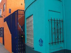 Colorful Buildings in Venice California by Trudi L, via Flickr  -Love the colors
