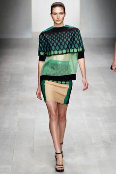 Interesting    By designer David Koma for Spring 2013 RTW