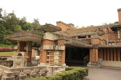 Imperial Hotel by Frank Lloyd Wright - Japan