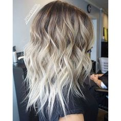 40 Hair Сolor Ideas with White and Platinum Blonde Hair ❤ liked on Polyvore featuring hair