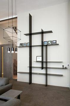 Interior Design Living Room Warm, Living Room Designs, Bedroom Decor Lights, Diy Bedroom Decor, Home Decor Furniture, Furniture Design, Etagere Design, Bibliotheque Design, Living Room Decor Inspiration