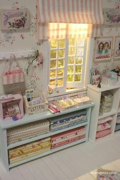 Creative and Coolest Craft Rooms and Spaces Ideas