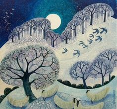 Lisa Graa Jensen   Winter Woolies Prints by Lisa Graa Jensen