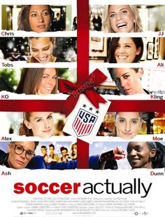 I don't want a lot for Christmas… #uswnt #krashlyn #preath