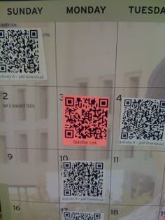 Scott Sibberson: More QR Codes in Science