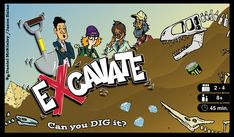 Excavate! | Image | BoardGameGeek