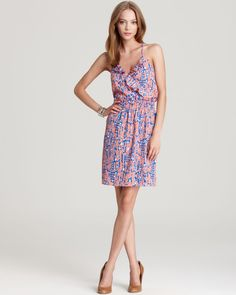 Aqua Ruffle Front Dress - Big Joy | Bloomingdale's